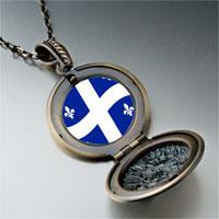 Necklace & Pendants - quebec flag photo italian pendant necklace Image.