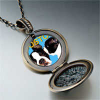 Necklace & Pendants - boston terrier photo italian pendant necklace Image.