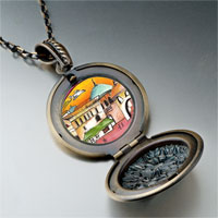Necklace & Pendants - hand painted photo italian pendant necklace Image.