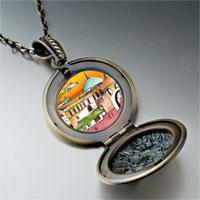 Necklace & Pendants - hand painted photo italian pendant necklace Image.