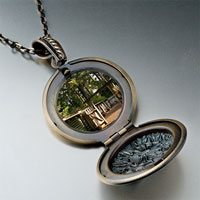 Necklace & Pendants - door shade pendantround flower gifts for women necklace Image.