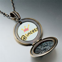 "Necklace & Pendants - crown & "" princess""  pendantround flower gifts for women necklace Image."