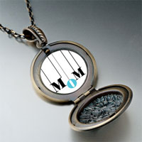 Necklace & Pendants - colorful necklace round flower pendant Image.