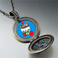 Necklace & Pendants - christmas jewelry christmas stocking photo pendant necklace Image.