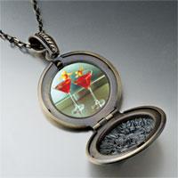 Necklace & Pendants - tropical martini pendant necklace Image.
