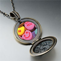 Necklace & Pendants - valentine heart halloween candy pendant necklace Image.