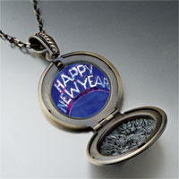 Necklace & Pendants - happy new year hat pendant necklace Image.