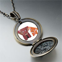 Necklace & Pendants - paper dogs pendant necklace Image.