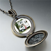 Necklace & Pendants - motor home vacation pendant necklace Image.