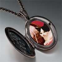 Necklace & Pendants - cat yarn photo locket pendant necklace Image.