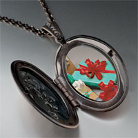 Necklace & Pendants - holiday gifts photo locket pendant necklace Image.