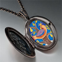 Necklace & Pendants - partridge in pear tree photo locket pendant necklace Image.