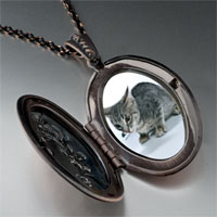 Necklace & Pendants - kitten cat photo photo locket pendant necklace Image.