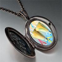 Necklace & Pendants - champagne party photo locket pendant necklace Image.