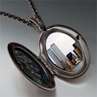 Necklace & Pendants - new york twin towers photo locket pendant necklace Image.