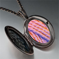 Necklace & Pendants - pink yarn photo locket pendant necklace Image.
