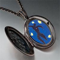 "Necklace & Pendants - icarus "" jazz""  photo locket pendant necklace Image."