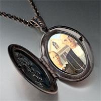 Necklace & Pendants - american gothic photo locket pendant necklace Image.