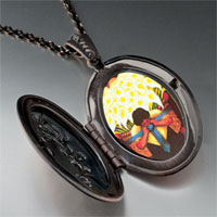 Necklace & Pendants - diego rivera' s el vendedor alcatraces photo locket pendant necklace Image.