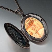Necklace & Pendants - mucha' s poetry photo locket pendant necklace Image.