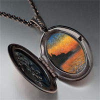 Necklace & Pendants - monet' s san giorgio maggiore photo locket pendant necklace Image.