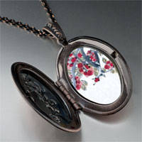 Necklace & Pendants - apricot blossoms art photo locket pendant necklace Image.