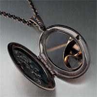 Necklace & Pendants - wedding bands photo locket pendant necklace Image.