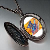 Necklace & Pendants - trumpet sheet music photo locket pendant necklace Image.
