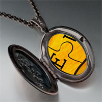 Necklace & Pendants - puzzle photo locket pendant necklace Image.