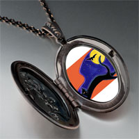 Necklace & Pendants - black cat bat photo locket pendant necklace Image.