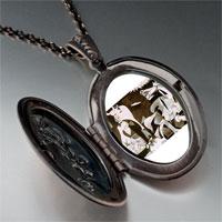 Necklace & Pendants - picasso guernica art photo locket pendant necklace Image.