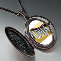 Necklace & Pendants - aloha on hawaii sand photo love beads photo locket pendant necklace Image.