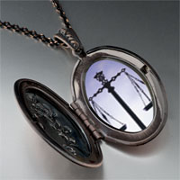 Necklace & Pendants - scales law justice pendant necklace Image.