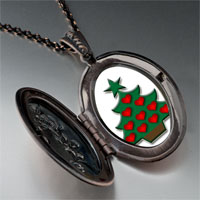 Necklace & Pendants - christmas necklace red heart christmas tree gifts pendant necklace Image.
