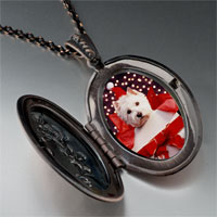 Necklace & Pendants - puppy christmas gift pendant necklace Image.