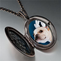 Necklace & Pendants - dog christmas rudolph reindeer pendant necklace Image.