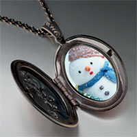 Necklace & Pendants - jewelry christmas gifts snowman tree pendant necklace Image.