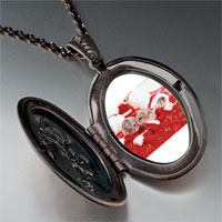 Necklace & Pendants - christmas mice pendant necklace Image.