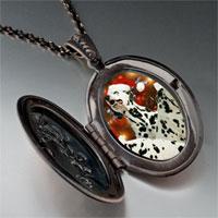 Necklace & Pendants - christmas dalmatian dogs pendant necklace Image.