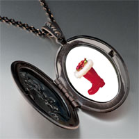 Necklace & Pendants - christmas ornament boot pendant necklace Image.