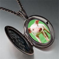 Necklace & Pendants - pig photo pendant necklace Image.