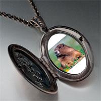 Necklace & Pendants - happy digging gopher pendant necklace Image.