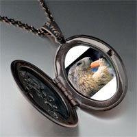 Necklace & Pendants - squirrel eating carrot animal pendant necklace Image.