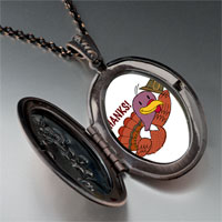 Necklace & Pendants - turkey giving thanks pendant necklace Image.