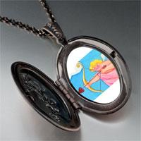 Necklace & Pendants - cupid golden bow pendant necklace Image.