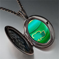 Necklace & Pendants - ireland shamrock hat pendant necklace Image.