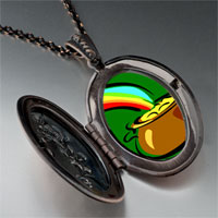Necklace & Pendants - pot gold pendant necklace Image.