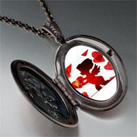 Necklace & Pendants - cupid hearts pendant necklace Image.