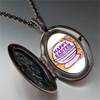 Necklace & Pendants - happy easter basket pendant necklace Image.