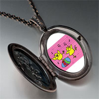 Necklace & Pendants - easter birds singing pendant necklace Image.